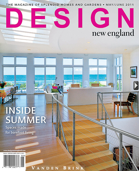 Design New England Cover May/June 2011