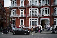 APR 06 Embassy of Ecuador, London