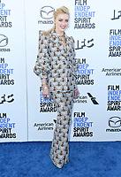 08 February 2020 - Santa Monica - Amber Heard. 2020 Film Independent Spirit Awards - Arrivals held at Santa Monica Pier. Photo Credit: Birdie Thompson/AdMedia