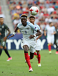 England's Tammy Abraham in action during the UEFA Under 21 Semi Final at the Stadion Miejski Tychy in Tychy. Picture date 27th June 2017. Picture credit should read: David Klein/Sportimage