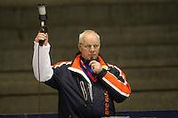 SCHAATSEN: HEERENVEEN: IJsstadion Thialf, 07-03-2008, VikingRace, Jan Ruurd Dijkstra (starter), ©foto Martin de Jong