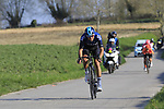 Gianni Moscon (ITA) Team Sky descends off Paterberg during the 2019 E3 Harelbeke Binck Bank Classic 2019 running 203.9km from Harelbeke to Harelbeke, Belgium. 29th March 2019.<br /> Picture: Eoin Clarke | Cyclefile<br /> <br /> All photos usage must carry mandatory copyright credit (© Cyclefile | Eoin Clarke)
