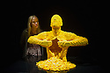 London, UK. 24.09.2014. The Old Truman Brewery hosts Nathan Sawaya's exhibition THE ART OF THE BRICK ®. Over 80 art sculptures created from more than a million LEGO ® bricks will be on display in the capital from Friday 26th September 2014 until Sunday 4th January 2015. Photograph © Jane Hobson.