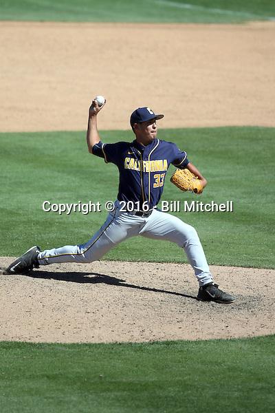 Erik Martinez - 2016 California Golden Bears (Bill Mitchell)