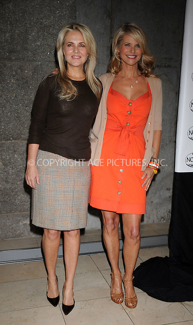 WWW.ACEPIXS.COM . . . . . ....April 14 2009, New York City....Socialite Cornelia Guest and model Christie Brinkley at the 2nd Annual Luncheon and Education Panel To Benefit NOFA-NY (Northeastern Organic Farming Association Of New York) at Guastavino's on April 14 2009 in New York City. ....Please byline: KRISTIN CALLAHAN - ACEPIXS.COM.. . . . . . ..Ace Pictures, Inc:  ..tel: (212) 243 8787 or (646) 769 0430..e-mail: info@acepixs.com..web: http://www.acepixs.com