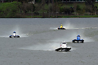 Rob Rinker, (#1) leads Steve Lee, (#26) and Carlos Mendana, (#27). (SST-45 class)