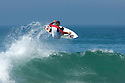Miky Picon at home during a free surfing session in Hossegor, France.