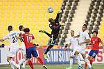 Korea republic vs Jordan during the AFC U23 Championship 2016 Quarter Finals match on January 23, 2016 at the Suhaim Bin Hamad Stadium, in Doha, Qatar. Photo by Fadi Al-Assaad / Lagardère Sports