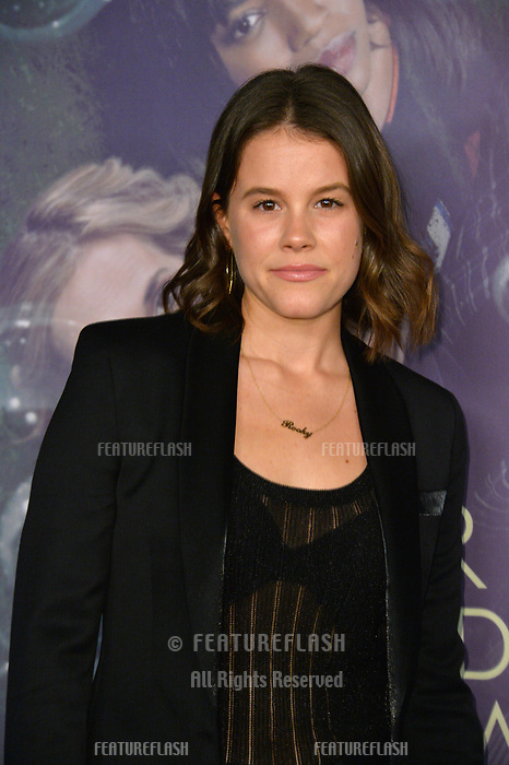 Sosie Bacon at the premiere for HBO's &quot;Here and Now&quot; at The Directors Guild of America, Los Angeles, USA 05 Feb. 2018<br /> Picture: Paul Smith/Featureflash/SilverHub 0208 004 5359 sales@silverhubmedia.com