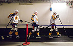 ***BETALBILD***  <br /> Stockholm 2015-09-19 Ishockey SHL Djurg&aring;rdens IF - Skellefte&aring; AIK :  <br /> Skellefte&aring;s Adam Pettersson och Martin Lundberg ser nedst&auml;mda ut under en periodpaus under matchen mellan Djurg&aring;rdens IF och Skellefte&aring; AIK <br /> (Foto: Kenta J&ouml;nsson) Nyckelord:  Ishockey Hockey SHL Hovet Johanneshovs Isstadion Djurg&aring;rden DIF Skellefte&aring; SAIK depp besviken besvikelse sorg ledsen deppig nedst&auml;md uppgiven sad disappointment disappointed dejected