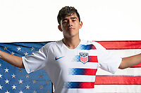 Rome, GA - Friday, June 21, 2019:  Para 7 USMNT headshot of Michael Ruiz.