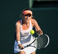AGNIESZKA RADWANSKA (POL)<br /> Tennis - Sony Open - ATP-WTA -  Miami -  2014  - USA  -  21 March 2014. <br /> &copy; AMN IMAGES