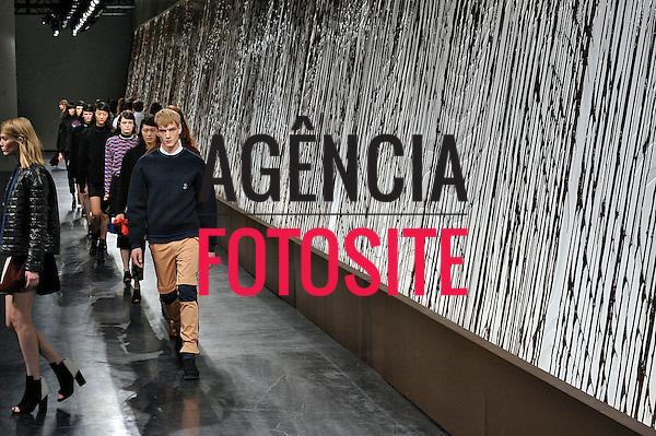 Nova Iorque, EUA – 02/2014 - Desfile de Opening Ceremony durante a Semana de moda de Nova Iorque - Inverno 2014. <br /> Foto: FOTOSITE