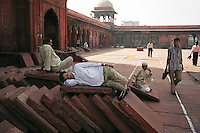 Delhi, India, March 2002.Juma Masjd (Mosq)