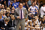 02 November 2013: Duke head coach Mike Krzyzewski. The Duke University Blue Devils played the Drury University Panthers in a men's college basketball exhibition game at Cameron Indoor Stadium in Durham, North Carolina. Duke won the game 81-65.
