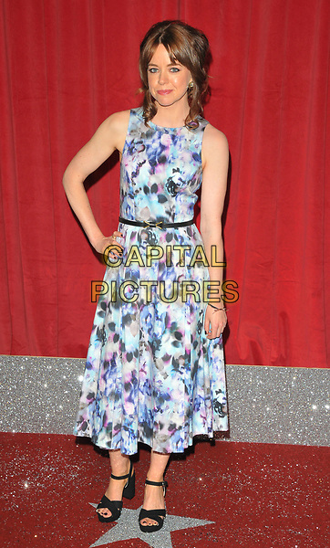 Georgia Taylor at the British Soap Awards 2017, The Lowry Theatre, Pier 8, Salford Quays, Salford, Manchester, England, UK, on Saturday 03 June 2017.<br /> CAP/CAN<br /> &copy;CAN/Capital Pictures