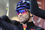Alejandro Valverde of Spain at sign on before the Men Elite Road Race of the UCI World Championships 2019 running 280km from Leeds to Harrogate, England. 29th September 2019.<br /> Picture: Eoin Clarke | Cyclefile<br /> <br /> All photos usage must carry mandatory copyright credit (© Cyclefile | Eoin Clarke)