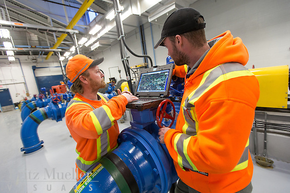 Yukon College Waste Water Operator Program, Whitehorse, October 2014