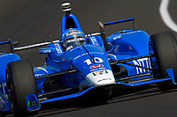 Verizon IndyCar Series<br /> Indianapolis 500 Practice<br /> Indianapolis Motor Speedway, Indianapolis, IN USA<br /> Tuesday 16 May 2017<br /> Tony Kanaan, Chip Ganassi Racing Teams Honda<br /> World Copyright: F. Peirce Williams