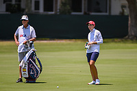 Carlota Ciganda (ESP) looks over her approach shot on 4 during round 3 of the 2019 US Women's Open, Charleston Country Club, Charleston, South Carolina,  USA. 6/1/2019.<br /> Picture: Golffile | Ken Murray<br /> <br /> All photo usage must carry mandatory copyright credit (© Golffile | Ken Murray)
