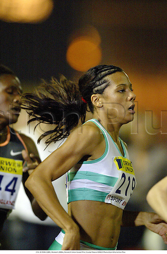 219. JO FENN (GBR), Women's 800m, Norwich Union Grand Prix, Crystal Palace 020823 Photo:Glyn Kirk/Action Plus...Ahletics 2002.woman.track and field.female
