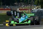20 July 2007: Ryan Hunter-Reay (USA) at the Honda 200 at Mid-Ohio, Lexington, Ohio.