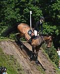 02.06.2019,  GER;  Deutsches Spring- und Dressur-Derby, 90. Deutsches Spring-Derby, im Bild Nigel Coupe  (GBR) auf Golvers Hill auf dem Idee Kaffee Wall  Foto © nordphoto / Witke