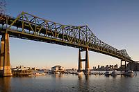 Maurice Tobin Mystic River Bridge, Chelsea, Boston, MA