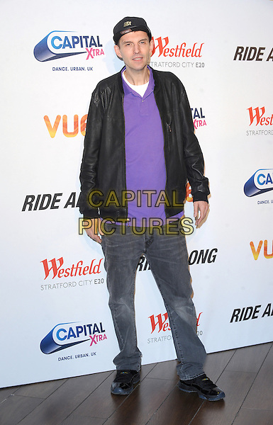 LONDON, ENGLAND - FEBRUARY 27: Tim Westwood attends a Capital Xtra Special Fan Screening of Ride Along at Westfield Stratford City on February 27, 2013 in London, England.<br /> CAP/BEL<br /> &copy;Tom Belcher/Capital Pictures