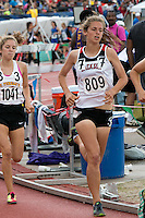 Jackson's Chelsea Drum battles the competition on her way to a third-place finish in the Class 5 1600-meters, finishing in 4.57.96.