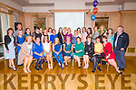 Hillary Williams Celebrates her retirement  from the Rathass Ward of the Kerry General Hospital  with Collegues at Ballygarry House Hotel on Friday night.