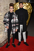 Perri Kiely &amp; Jordan Banjo at the British Academy Childrens Awards 2017 at the Roundhouse, Camden, London, UK. <br /> 26 November  2017<br /> Picture: Steve Vas/Featureflash/SilverHub 0208 004 5359 sales@silverhubmedia.com