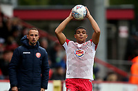 Luther Wildin of Stevenage during Stevenage vs Grimsby Town, Sky Bet EFL League 2 Football at the Lamex Stadium on 12th October 2019