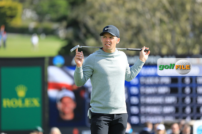 Paul Casey (ENG) during the first round of the AT&T Pro-Am, Pebble Beach Golf Links, Monterey, California, USA. 07/02/2019<br /> Picture: Golffile | Phil Inglis<br /> <br /> <br /> All photo usage must carry mandatory copyright credit (© Golffile | Phil Inglis)