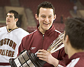 (Brian Boyle) Tim McFeely - Boston College defeated Princeton University 5-1 on Saturday, December 31, 2005 at Magness Arena in Denver, Colorado to win the Denver Cup.  It was the first meeting between the two teams since the Hockey East conference began play.