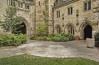 Yale University Campus, The Branford College Quad in June
