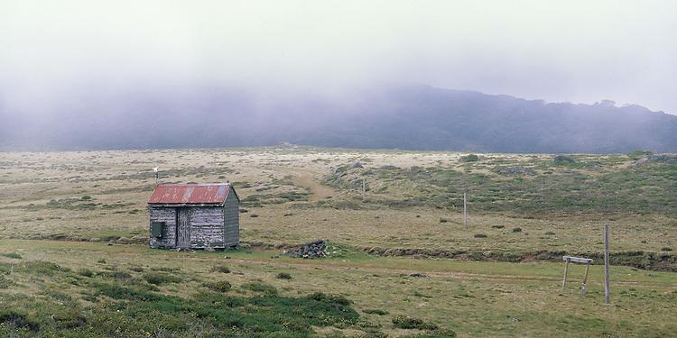 Bogong SEC Cope Hut in Summer Storm,<br /> Victorian Alps