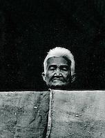 alte Frau, Thailand 1972