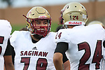 Saginaw beats Wichita Falls High School 40-29 in 5A high school football at Memorial Stadium in Wichita Falls on Friday, September 7, 2018. (Photo by Khampha Bouaphanh)