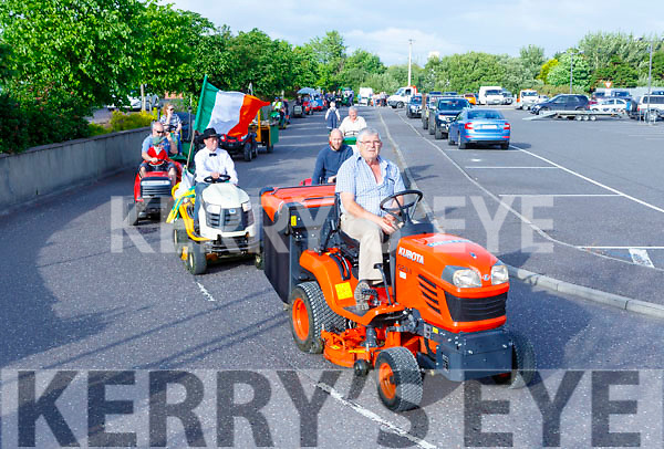 The Lawnmower run staring in Killorglin on friday evening