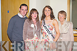 ENTRANT: Rose entrant Annemaria O'Reilly, Killarney with family and friends at the Ballyroe Heights hotel on Saturday l-r: Adrian O'Reilly, Jennifer Fitzgerald, Annemaria O'Reilly (The Malton Hotel) and Margaret O'Reilly.