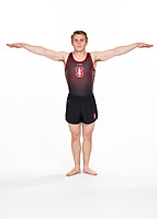 Stanford, CA -- October 9, 2018: Stanford Men's Gymnastics Photo Day.