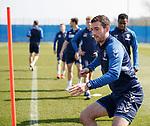 19.04.2019 Rangers training: Lee Wallace