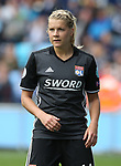 Ada Hegerberg of Lyon during the Women's Champions League, Semi Final 1st leg match at the Academy Stadium, Manchester. Picture date 22nd April 2018. Picture credit should read: Simon Bellis/Sportimage