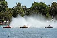 "Mike Monahan, GP-79 ""Bad Influence"", Marty Wolfe, GP-93 ""Renegade""  and Ken Brodie II, GP-50 ""Intensity""  (Grand Prix Hydroplane(s)"
