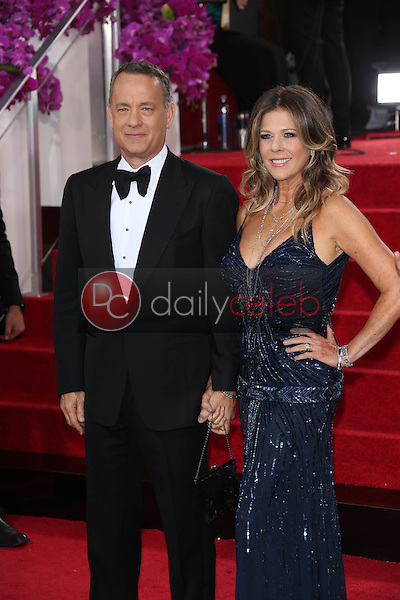 Tom Hanks, Rita Wilson<br />