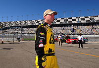 Feb 10, 2008; Daytona Beach, FL, USA; Nascar Sprint Cup Series driver Dave Blaney (22) during qualifying for the Daytona 500 at Daytona International Speedway. Mandatory Credit: Mark J. Rebilas-US PRESSWIRE
