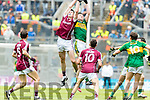 Mark Ryan Kerry in action against Cein D'Arcy Galway in the All Ireland Minor Football Final in Croke Park on Sunday.