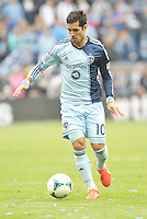 Benny Feilhaber (10) midfield Sporting KC in action..Sporting Kansas City defeated Chivas USA 4-0 at Sporting Park, Kansas City, Kansas.