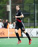 BLOEMENDAAL   - Hockey -  3e en beslissende  wedstrijd halve finale Play Offs heren. Bloemendaal-Amsterdam (0-3). Mirco Pruyser (A'dam).   Amsterdam plaats zich voor de finale.  COPYRIGHT KOEN SUYK